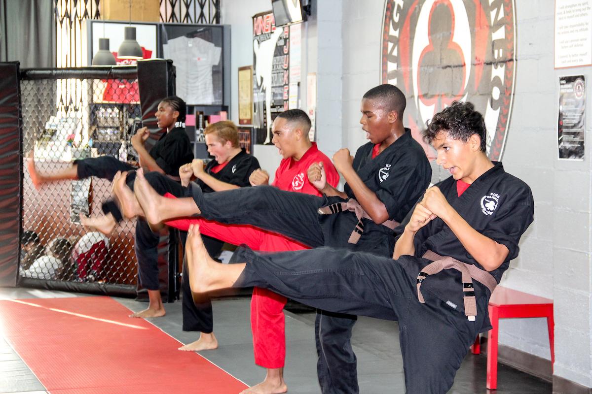 Kingi Kajukenbo Martials Arts School - JUNIORS (10-14 Year Olds) Juniors 10 14