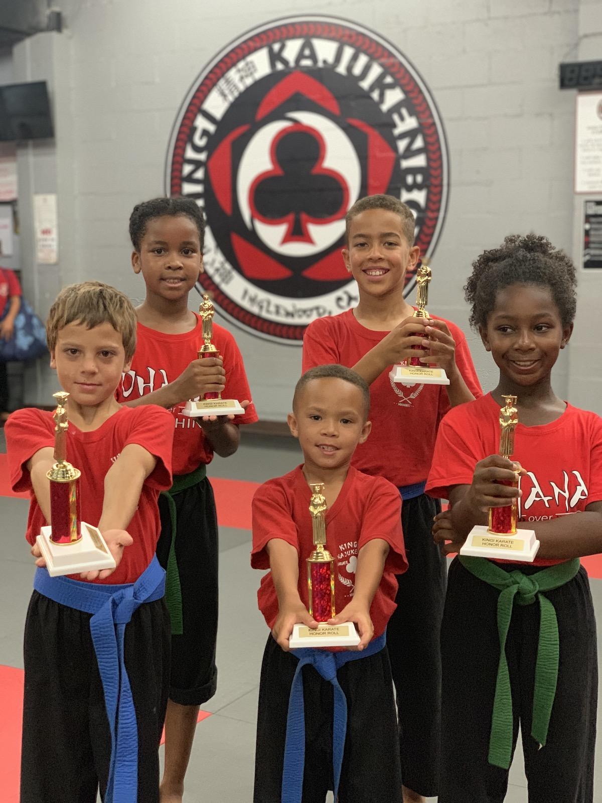 Kingi Kajukenbo Martials Arts School - JUNIORS (7-9 Year Olds) Juniors 7 9